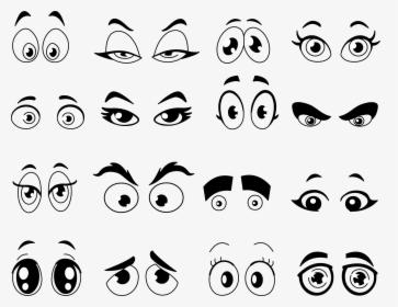 Cartoon Eye Clip Art Cartoon Eyes Coloring Pages Hd Png Download Transparent Png Image Pngitem