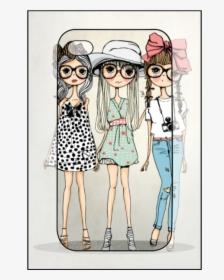 3 Best Friends Cartoon Girls Hd Png Download Transparent Png Image Pngitem