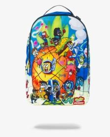 Sprayground Spongebob Pineapple Party Backpack Hd Png Download Transparent Png Image Pngitem