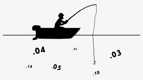 Download Silhouette Boat Silhouette Fisherman Boat Png Transparent Png Transparent Png Image Pngitem