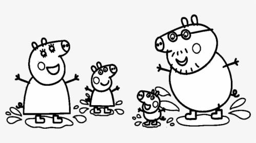 Disegno Peppa Pig Da Colorare.Peppa Pig Disegni Da Colorare Hd Png Download Transparent