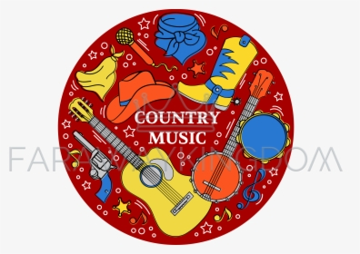 Free Country Western Music Clipart | Free Images at Clker.com - vector clip  art online, royalty free & public domain