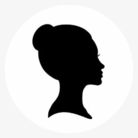 Transparent Side Profile Png Profile Woman Face Silhouette Png Download Transparent Png Image Pngitem
