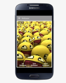 Smile Wallpaper The App Store Lots Of Yellow Troll Face Hd Png Download Transparent Png Image Pngitem