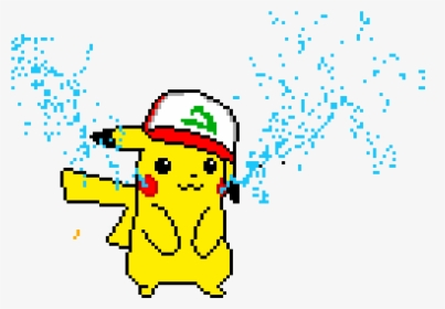 Pikachu Kawaii Pixel Art Hd Png Download Transparent Png