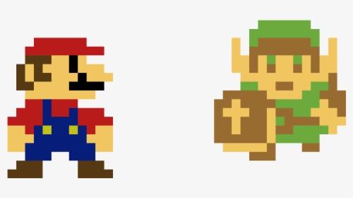 Pixel Super Mario Bros Hd Png Download Transparent Png Image