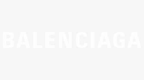 Balenciaga White Logo Png, Transparent