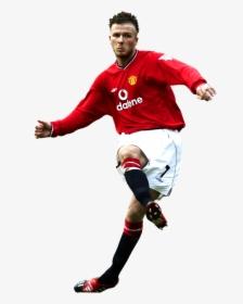 David Beckham Manchester United Render Hd Png Download Transparent Png Image Pngitem