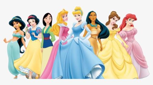 Disney Princess Png Pic All The Princesses Together Transparent