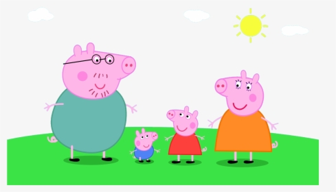 Ghetto Pepa Pig Peppa E George Hd Png Download Transparent