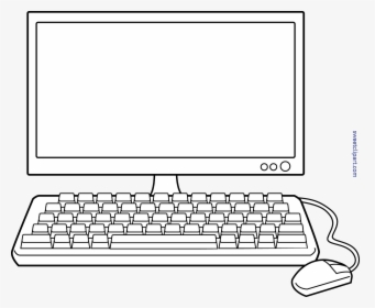 Transparent Computer Clipart Cartoon Keyboard Hd Png Download Transparent Png Image Pngitem