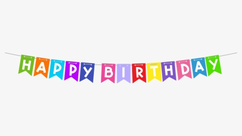 Transparent Background Happy Birthday Banner Png Png Download