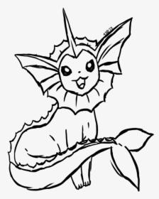 Pokemon Vaporeon Coloring Pages Az Coloring Pages Vaporeon Black And White Hd Png Download Transparent Png Image Pngitem