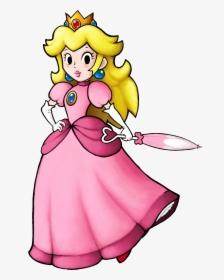 Art Super Princess Peach Mario Hd Png Download