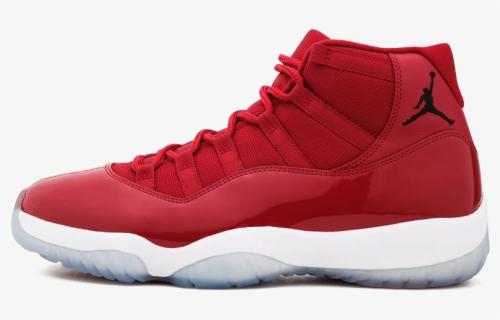Transparent Air Jordans Png - Red