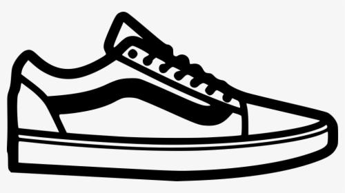 shoes drawing vans old school