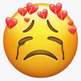 Freetoedit Emoji Sad Sademoji Tear Brokenhearts Smiley Hd Png Download Transparent Png Image Pngitem