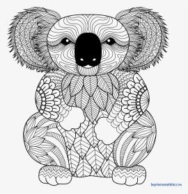 koala | Koala coloring page - Animals Town - animals color sheet ... | 280x270