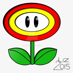 Super Mario Brothers Coloring Pages Ice Flower Paper Mario Sticker Star Art Hd Png Download Transparent Png Image Pngitem