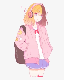 Cute Kawaii Anime Animegirl Aesthetic Tumblr Cute Anime Girl Aesthetic Hd Png Download Transparent Png Image Pngitem