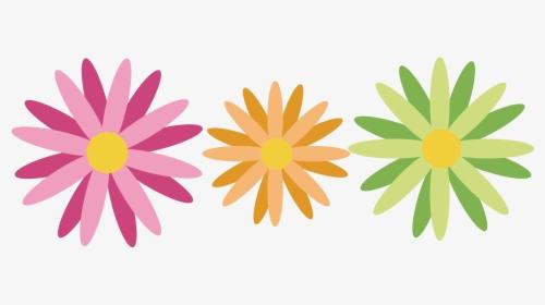 1列のカラフルな花ピンク 無料イラスト愛 クリップ アート 無料 花 Hd Png Download Transparent Png Image Pngitem