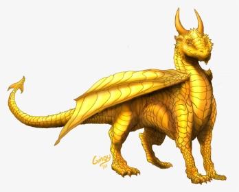 gold dragon wyrmling drawings