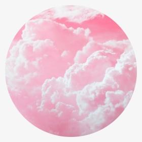 Clouds Sky Pinkclouds Pink Pinkaesthetic Aesthetic Circle