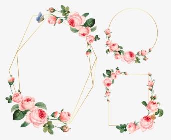 Frame Flower Border Circle ورد فيكتور Flower اطارات ورد Hd Png Download Transparent Png Image Pngitem