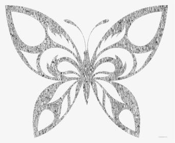 Clipart-Bild Abstrakte hell bunt polygonalen Dreieck geometrische  Schmetterling isoliert auf weiss