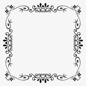 Geometry Clipart Clip Art Cute Black And White Border Design Hd Png Download Transparent Image Pngitem