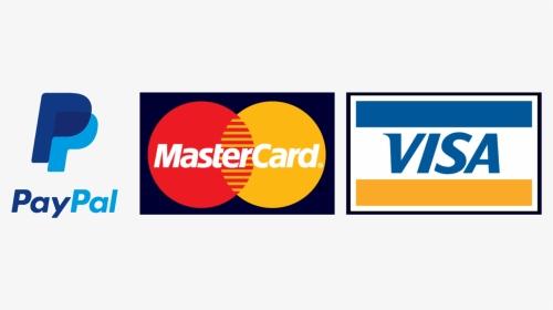 Visa Mastercard Paypal Logo, HD Png Download , Transparent Png