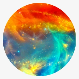 Red Blue Galaxy Aesthetic Circle Background Orange And Blue Galaxy Hd Png Download Transparent Png Image Pngitem