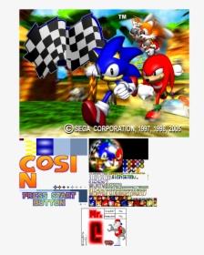 Sonic R Title Screen Hd Png Download Transparent Png Image Pngitem