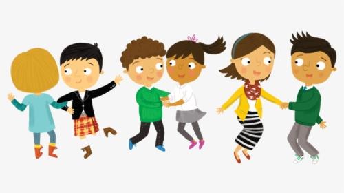 Children Dance Cartoon Hd Png Download Transparent Png Image Pngitem