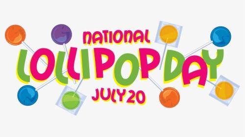 National Lollipop Day - Graphic Design, HD Png Download , Transparent Png  Image - PNGitem