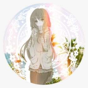 Icon Pfp Profile Profilepic Profilepicture Anime Anime Girl With Light Brown Hair Hd Png Download Transparent Png Image Pngitem