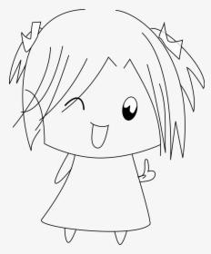 Dessin Petite Fille Manga Hd Png Download Transparent Png Image