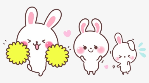 Cute Kawaii Bunny Rabbit Carrot Chibi Animals Adorable Bunny