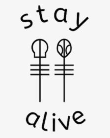 Drawing Lyrics Car Radio Stay Alive It S Worth It I Promise Hd Png Download Transparent Png Image Pngitem
