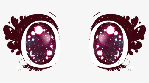 Transparent Sparkley Anime Eyes For Your Kawaii Pastel Cute