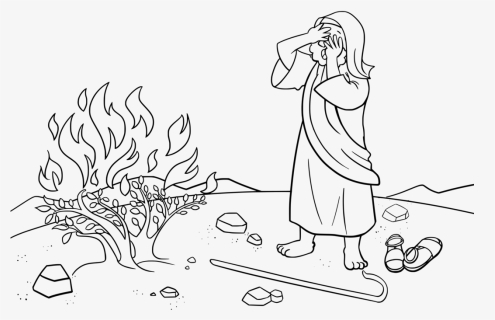 Birth of Moses and the burning bush, Bible App for Kids Story, A ... | 320x495