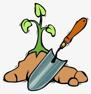 Old Grave Digging Shovel, HD Png Download , Transparent Png Image - PNGitem