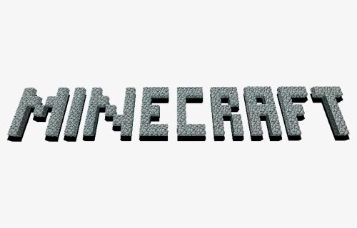 minecraft logo png white
