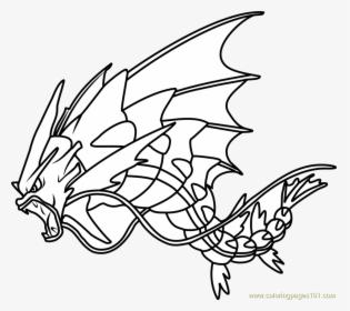 Gyarados Pokemon Coloring Pages Transparent Png Mega Gyarados Coloring Page Png Download Transparent Png Image Pngitem