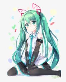 Gambar Hatsune Miku Kawaii Hd Png Download Transparent Png Image Pngitem