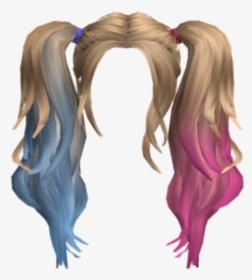 Hdr Wig Pigtails Blue Pink Suicidesquad Harleyquinn Harley