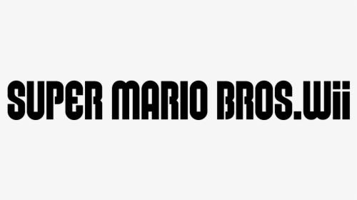 New Super Mario Bros Super Mario Bros Font Hd Png Download