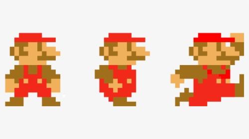Super Mario Jumping Mario Bros 8 Bits Png Transparent Png