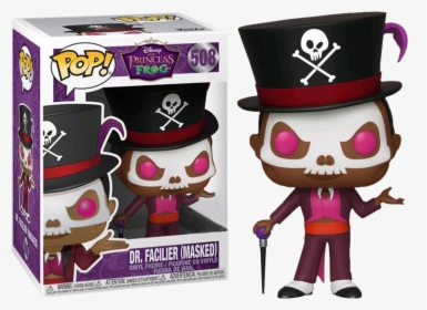The Princess And The Frog Dr Facilier Funko Pop Hd Png Download