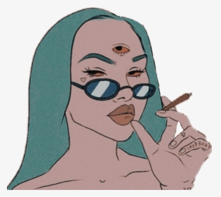 Another 3rd Eye Baddie Eye Aesthetic Drawing Hd Png Download